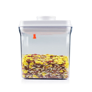 New Design Easy Open Airtight Candy Container For Bulk Candy/Plastic Storage Bin Airtight Food Container For Kitchen