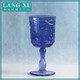 LX-G045 custom pewter wine glass goblet