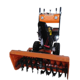 Gasoline snow blower sweeper cleaning machine for sale