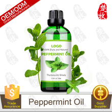 Private Label 100% Pure and Natural Peppermint Essential Oil 50ml Therapeutic Grade and Great for Aromatherapy