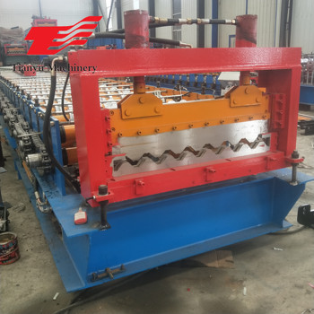 Used In Sweden Corrugated Metal Sheet Roofing Roll Forming Machine For Sale View Corrugated Metal Sheet Roofing Roll Forming Machine For Sale Ty Product Details From Cangzhou City Tianyu Machinery Manufacture Co