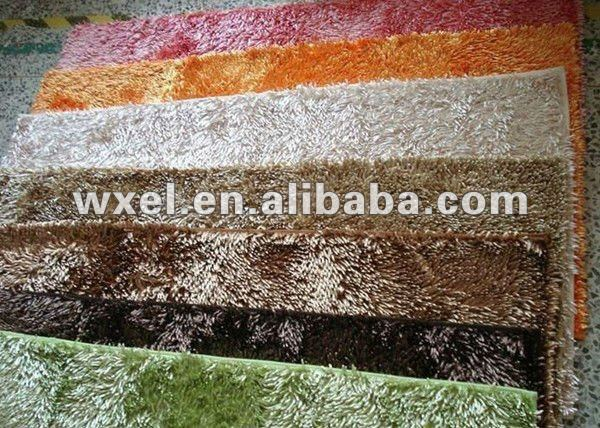 Microfiber Chenille Carpet in roll Shaggy PVC Floor Covering Door Mats Carpet