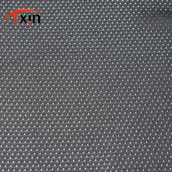 Tongxin Textile polyester mesh stretch fabric for sportswear /softball in stock