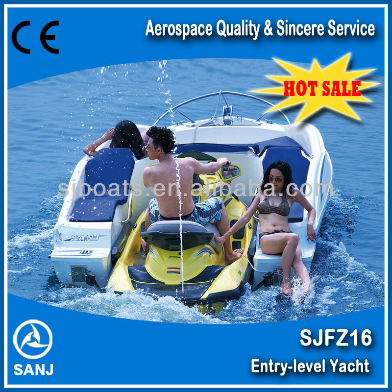Hot sale SJFZ16 Combined passenger Boat for Jet ski--Entry Level Boat