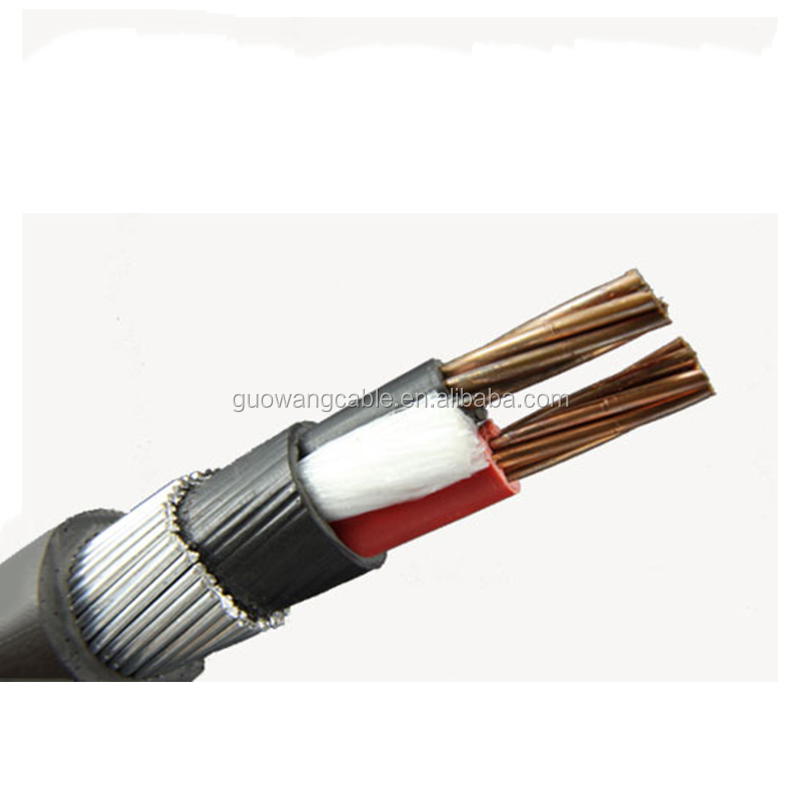 Top selling Copper conductor wire weave shielded 50 sq mm copper cable