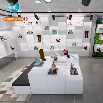 4314354dfa25e4 Chaussures Vitrine Boutique Accessoires Présentoir Pour Chaussures  Affichage Mural Showroom Armoire