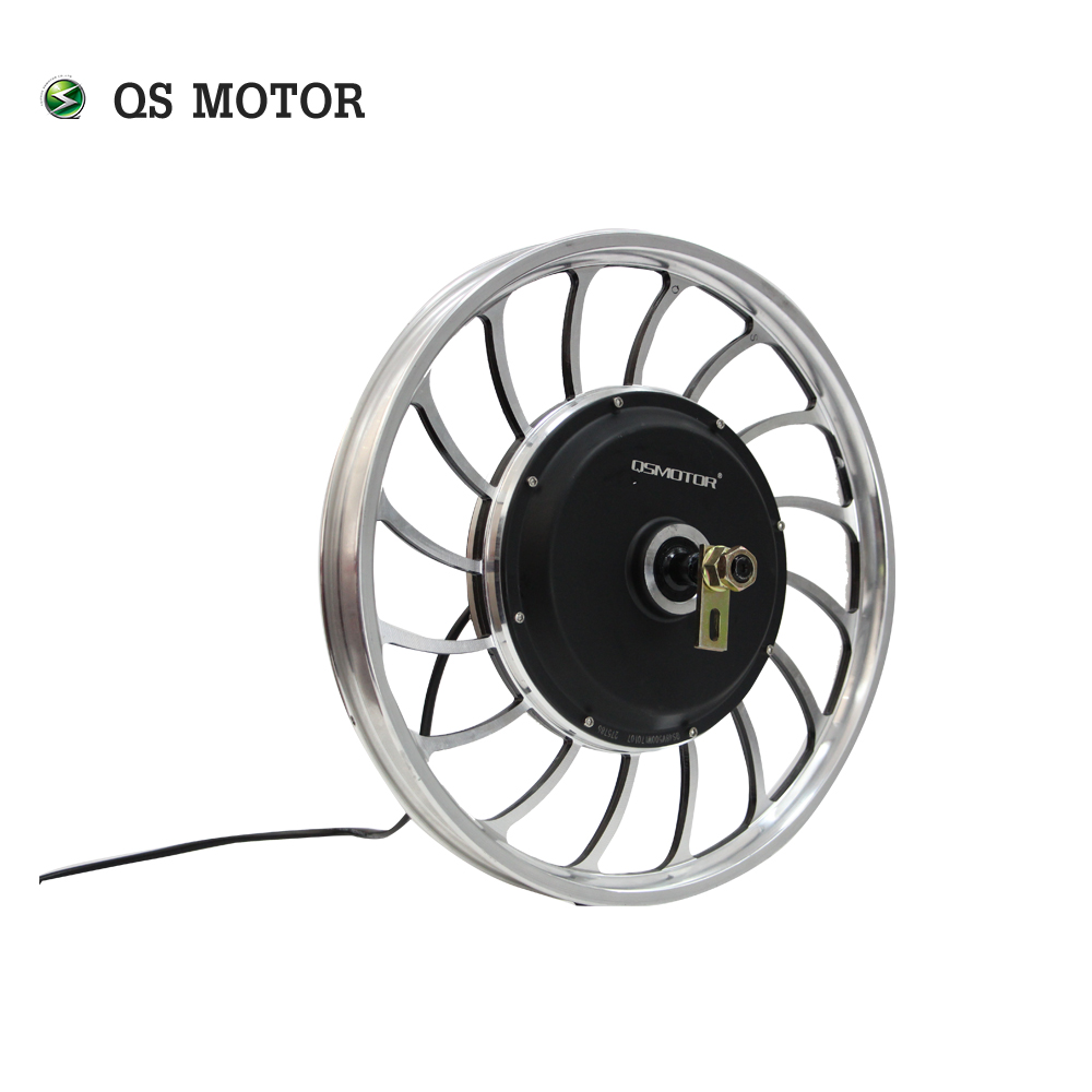 QS Motor 20inch 1kW 27H V1 Small Electric Bike Cast Wheel Hub Motor