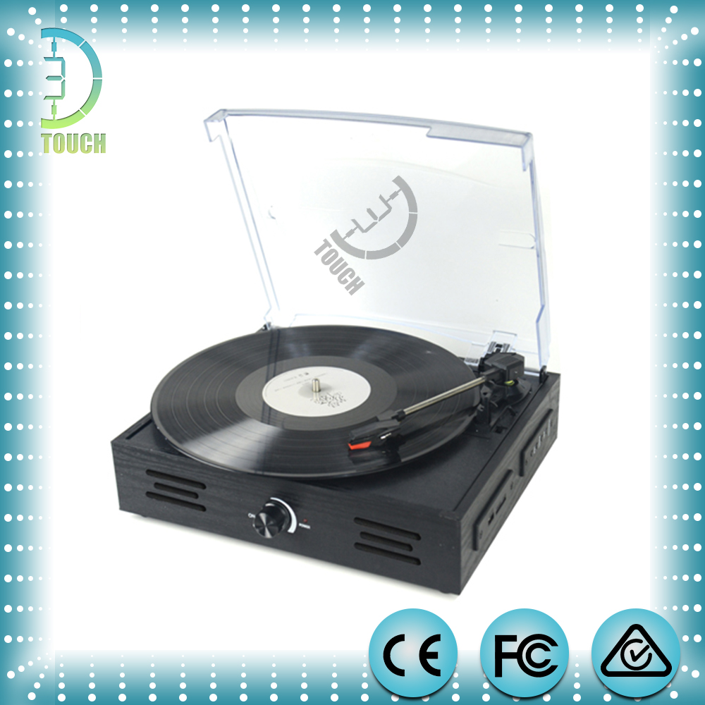 Cheapest One Stereo Turntable with Built-in speaker --model num3dtp05