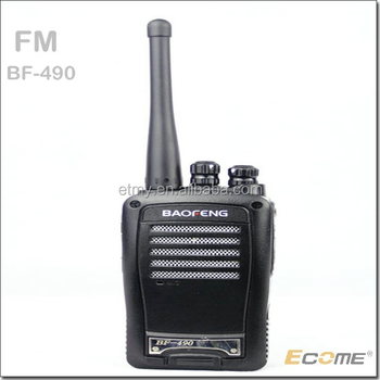Heat radio baofeng 5W Walkie talkie UHF with FM for plant