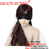 Black Satin ribbon Blindfold Sexy Eye Mask Patch Bondage Masque Mask Sex Aid Party Fun Flirt Sex Toys For Woman Men Couples