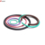 Waterproof light as568 o ring kt ice cream machine seal transparent silicone rubber o ring