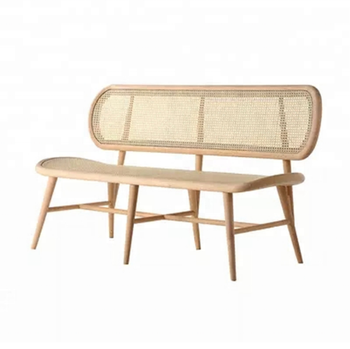 Excellent Modern Design Furniture Solid Wooden Natural Rattan Sheef Woven Chair Bench Buy Solid Wooden Chair Rattan Furniture Natural Rattan Bench Product On Creativecarmelina Interior Chair Design Creativecarmelinacom