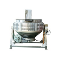 mixing jacketed kettle large electric cooking pot factory