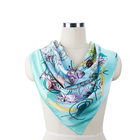 The Newest Fashion Printed Sexy Lady Satin Scarf