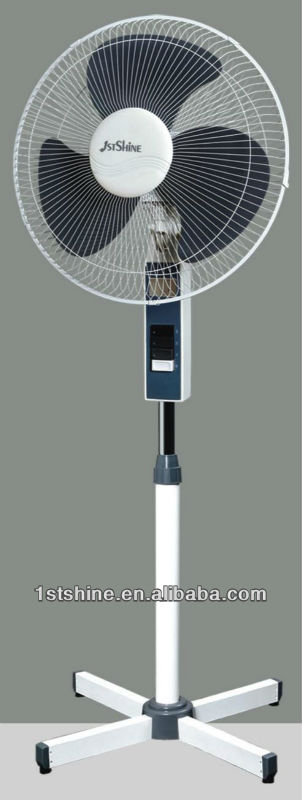 16 inch electric oscillating pedestal fan parts with CE high quality