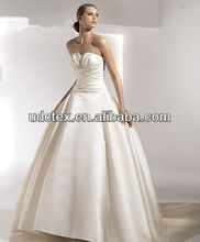bride wedding dress satin fabric