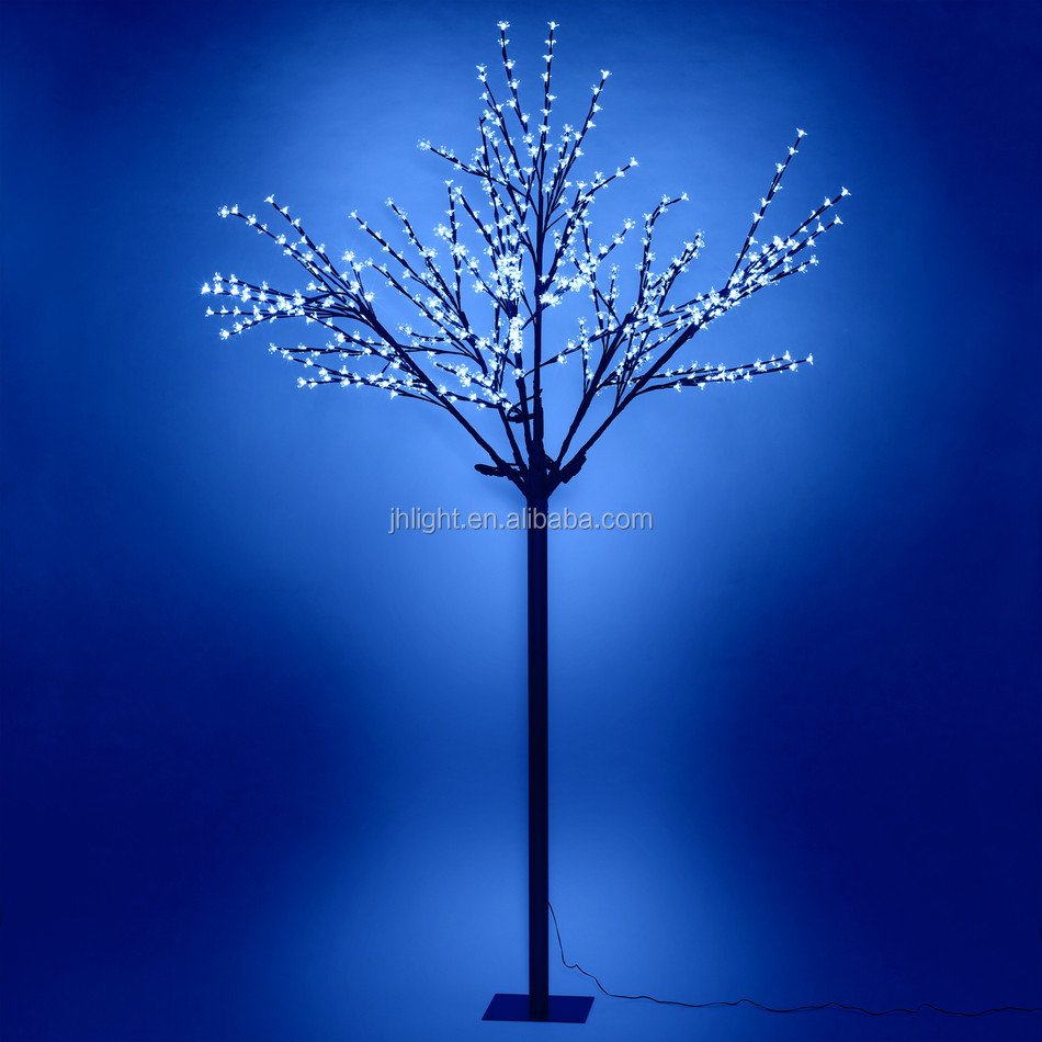 Led iluminado rboles rgb led light up plug bater a rbol - Arbol de navidad con luces led ...