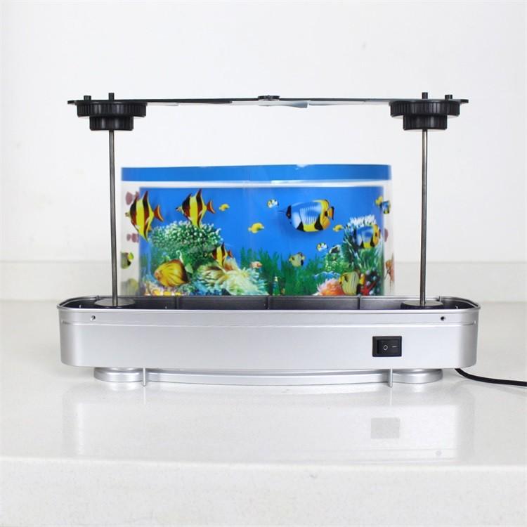 Living Room Bedroom Children Gift Led Aquarium Light 6w Abs Fish ...