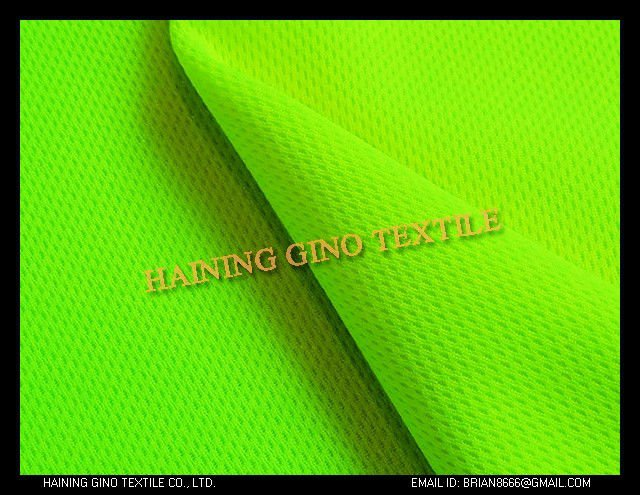 100% polyester bright yellow/orange/pink/green Jersey Fabric