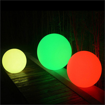 outdoor solar lamp stone glowing waterproof garden outdoor solar led stone ball light swimming pool ball light