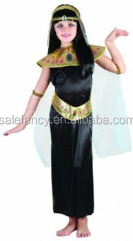 9f75610abc6 Children Girls Princess Cleopatra Egyptian Queen Fancy Dress Kids Costume  QBC-2276
