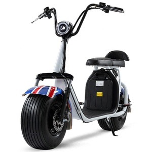 Support double battery 20AH Electric motorcycle citycoco 2 wheel electric scooter 2000W with optional configuration X7