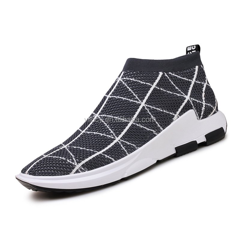 Men Sneakers Slip Action Knit Shoes on Casual Hot Sale Running Sports UnSRqgSwpB