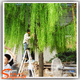 fake branches made of artificial weeping willow tree for wedding decoration