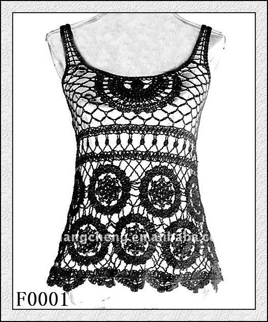 Famoso Patrón Chaleco Crochet Encaje Inspiración - Ideas de Patrones ...