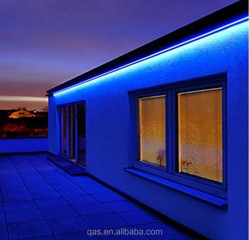 blauw 360 lumen dimbare 110 120 v ac flexibele platte led strip lichtslang 60 units