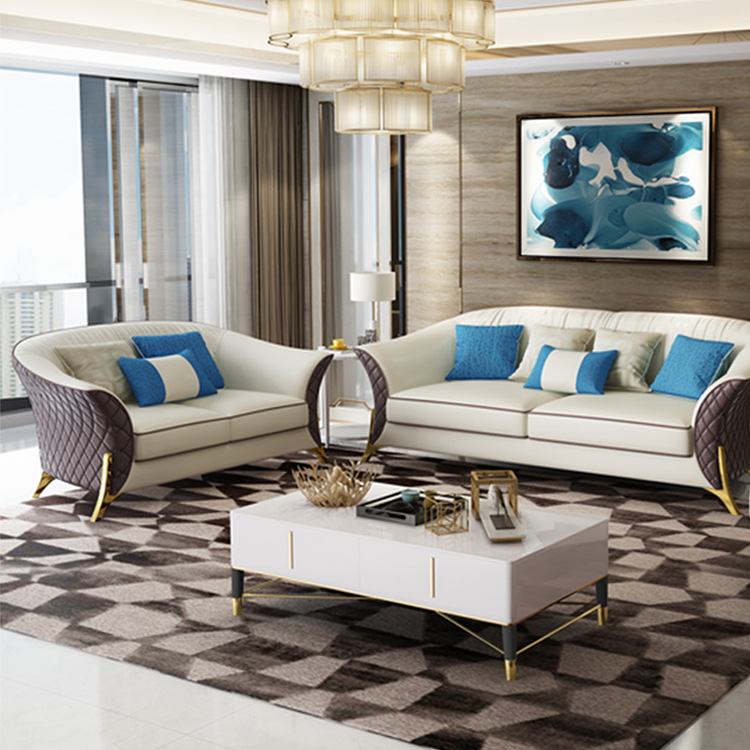 Leather Couch Living Room Sofa Sets