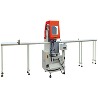 Aluminum window aluminium cutting machines single head