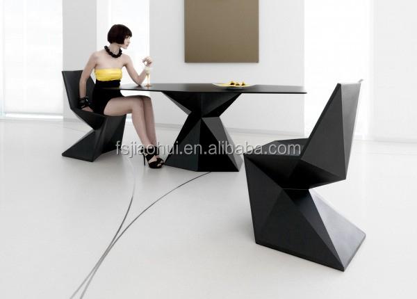 De gama alta muebles modernos, elegante silla de fibra de vidrio ...