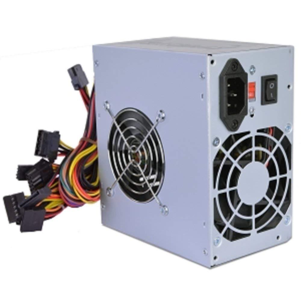 Logisys PS480G2 480W 20+4-pin Dual-Fan ATX Power Supply w/SATA & PCIe