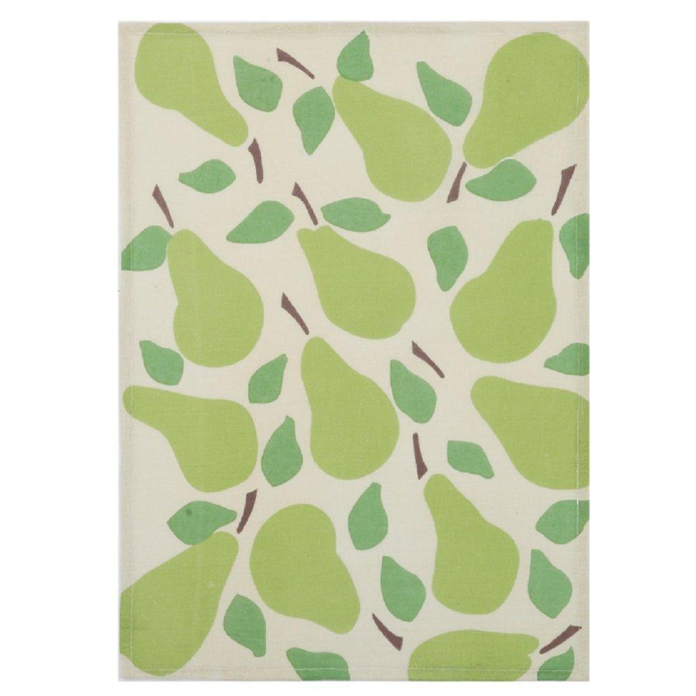 Peking Handicraft 04KN107C Pears Flour Sack Kitchen Hand Towel 18x25