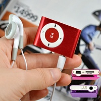hot sale portable Mini Clip Players Sports Music MP3 Player Without Screen support tf card