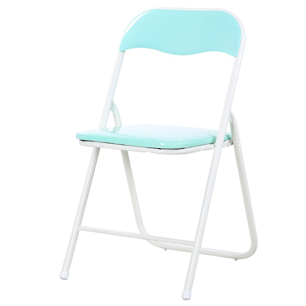 Home Folding Chair / Simple Economic Computer Chair / Backrest Chair / Office Conference Chair / Staff Chair Training Chair ( Color : B )