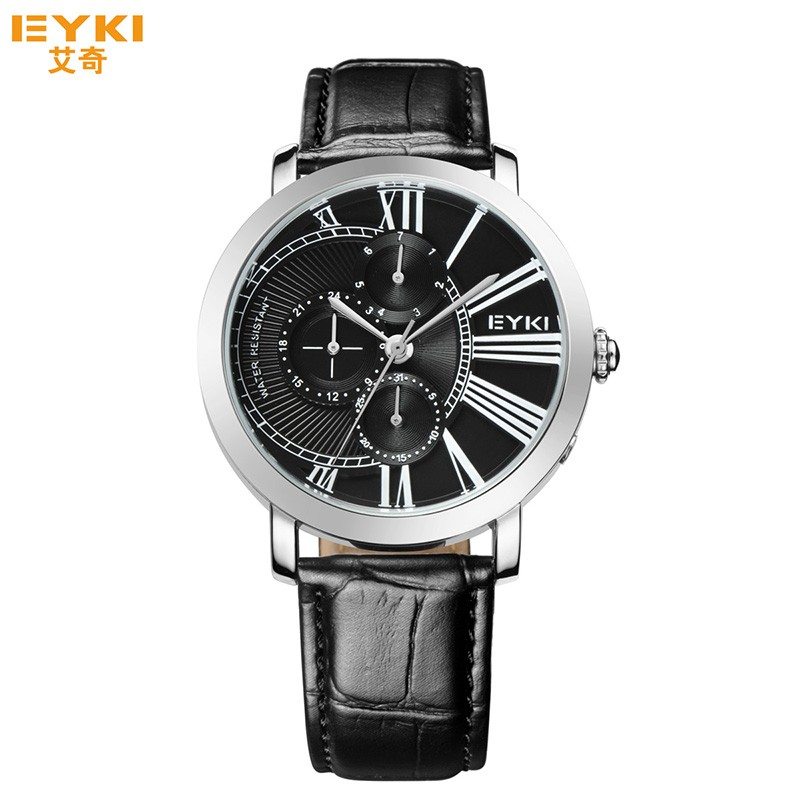 whole new 2017 eyki roles watches men gold luxury fastrack new 2017 eyki roles watches men gold luxury fastrack watches for men relogios genuine leather watches