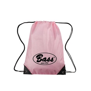 Custom Cheap Sports Gym Drawstring Backpack Polyester Draw String Bags