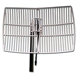 Get Quotations Homevision Technology WAG24021 Turmode 24Ghz Grid Parabolic Antenna Gray