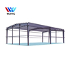 Autoclaved aerated concrete panel steel structure warehouse