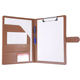 Padfolio Clipboard Faux Leather Letter Size A4 Writing Portfolio Clipboard Folder for Business Conference Notepad ClipBoard