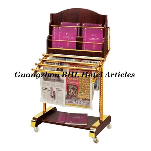 Hotel guangzhou suministro suelo biblioteca de madera for Revisteros de suelo