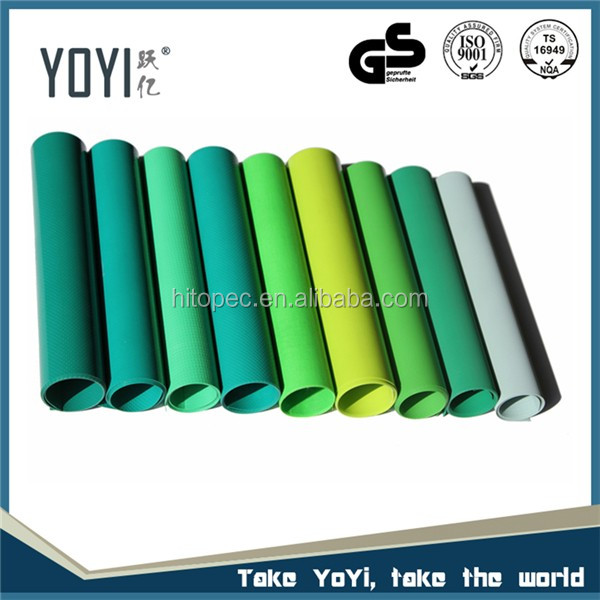 HT1020-850 Curtainsider PVC Coated Tarpaulin Fabric