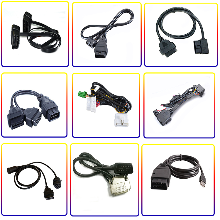 OBD PIN male and female wiring harness assembly