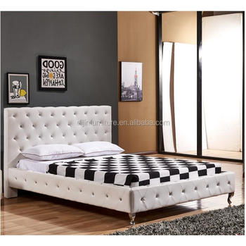 Moderno Reale Francese Letto King Size Queen Bianco Testata Letto ...