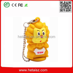 pvc cute animal lion shaped usb stick, lion 128gb usb flash drive usb 2.0 pen stick memory, pvc lion usb 128 gb