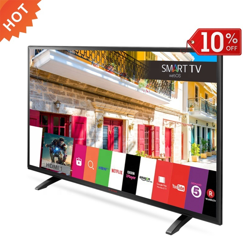 led <strong>tv</strong> 32 inch smart android full HD 1080p slim flat screen television universal