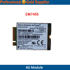 Sierra Wireless LTE 4G Modules EM7455 for Americas EMEA Cat-6