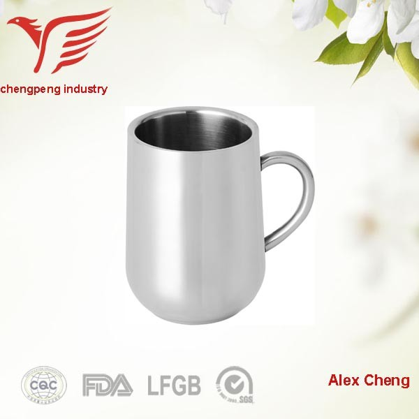 350ml new products shiny indian stainless steel tea cups